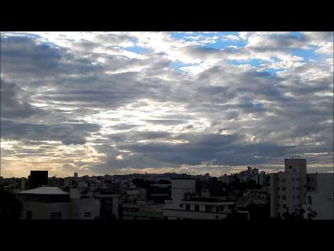 The End of a Cloudy Winter Day in Belo Horizonte City!