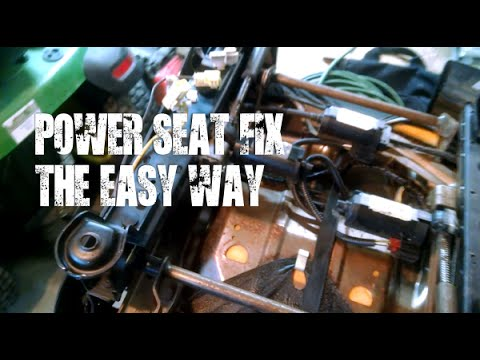 Power Seat Repair 2004 Ford Escape Diy Simple Fix Youtube