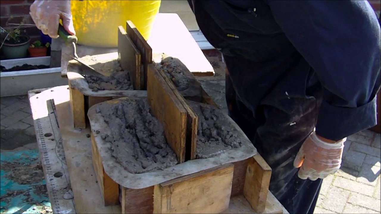 Making Concrete Retaining Wall Blocks Using Mold Creations Moulds You