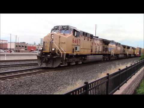 Railfanning Roseville, CA 6/3/17