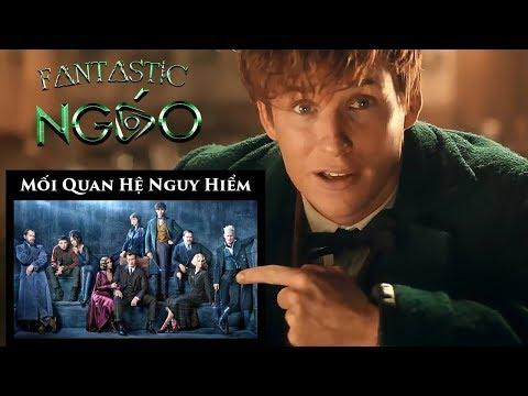 Quan Hệ Giữa Các Nhân Vật trong Fantastic Beasts 2 và Harrry Potter  by Ngáo phép thuật đầy mình