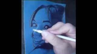 My first ball point pen drawing video.