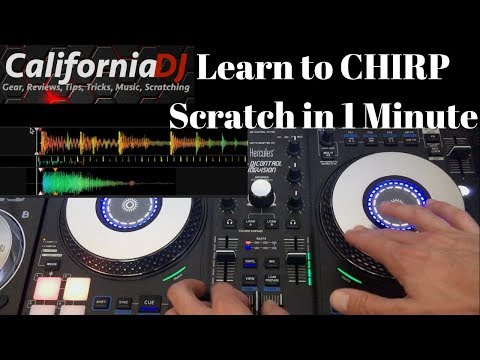 Learn to Chirp Scratch in 1 Minute