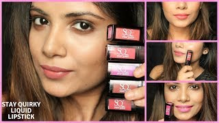 Best Affordable Liquid matte Lipstick For Indian Skin Tone By Stay Quirky