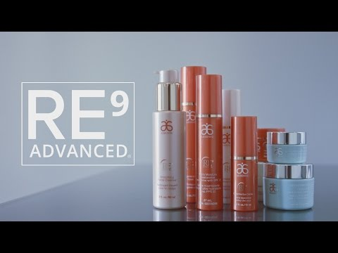 Arbonne: RE9 Advanced Skincare Collection (Tutorial)