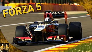 Forza 5 | F1 Gameplay: Lotus E21 Hotlap at Spa [1080p]