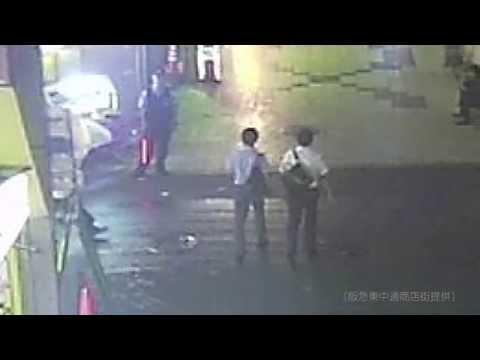 中一遺棄事件 防犯カメラがとらえた山田浩二容疑者とみられる男