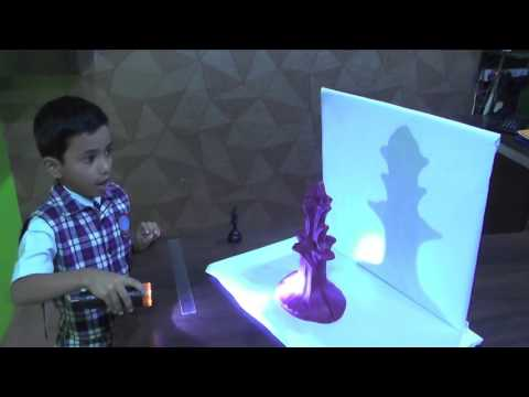 Live Projects on Shadow Formation by kidsprojects.in