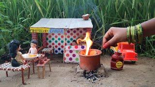 Miniature Tandoori Roti + Paneer Butter Masala  Paneer recipe  Full Video  Mini Foodkey