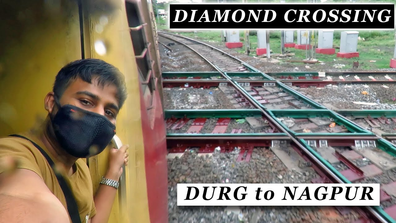 DURG to NAGPUR : Journey in Howrah - Porbandar Express