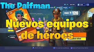 🧐NEW BUILD HEROES TEAM🧐 [Fortnite Save the World] GlobetrotteroO O.S.I.T.O .