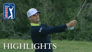 Zach Johnson's Round 2 highlights from Valero