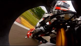 GoPro HD: Dustin Dominguez Crashes at Road America – AMA Pro Road Racing 2012