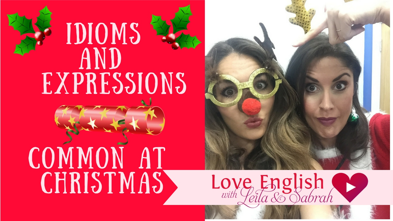 Christmas Expressions.Vocabulary Lesson Learn Christmas Expressions