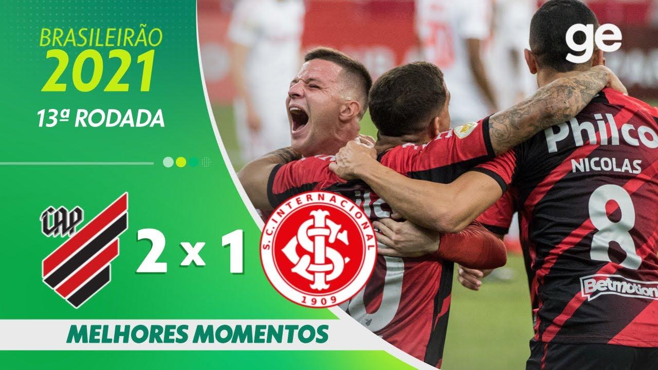 Download ATHLETICO-PR 2 X 1 INTERNACIONAL | MELHORES MOMENTOS | 13ª RODADA BRASILEIRÃO 2021 | ge.globo