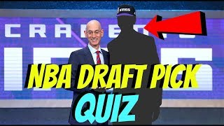 NBA Draft Lottery 2018 QUIZ  - CAN YOU GUESS These NBA PLAYERS DRAFT Pick Order? 🤔