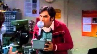 The Big Bang Theory 5x2 Kissing Machine