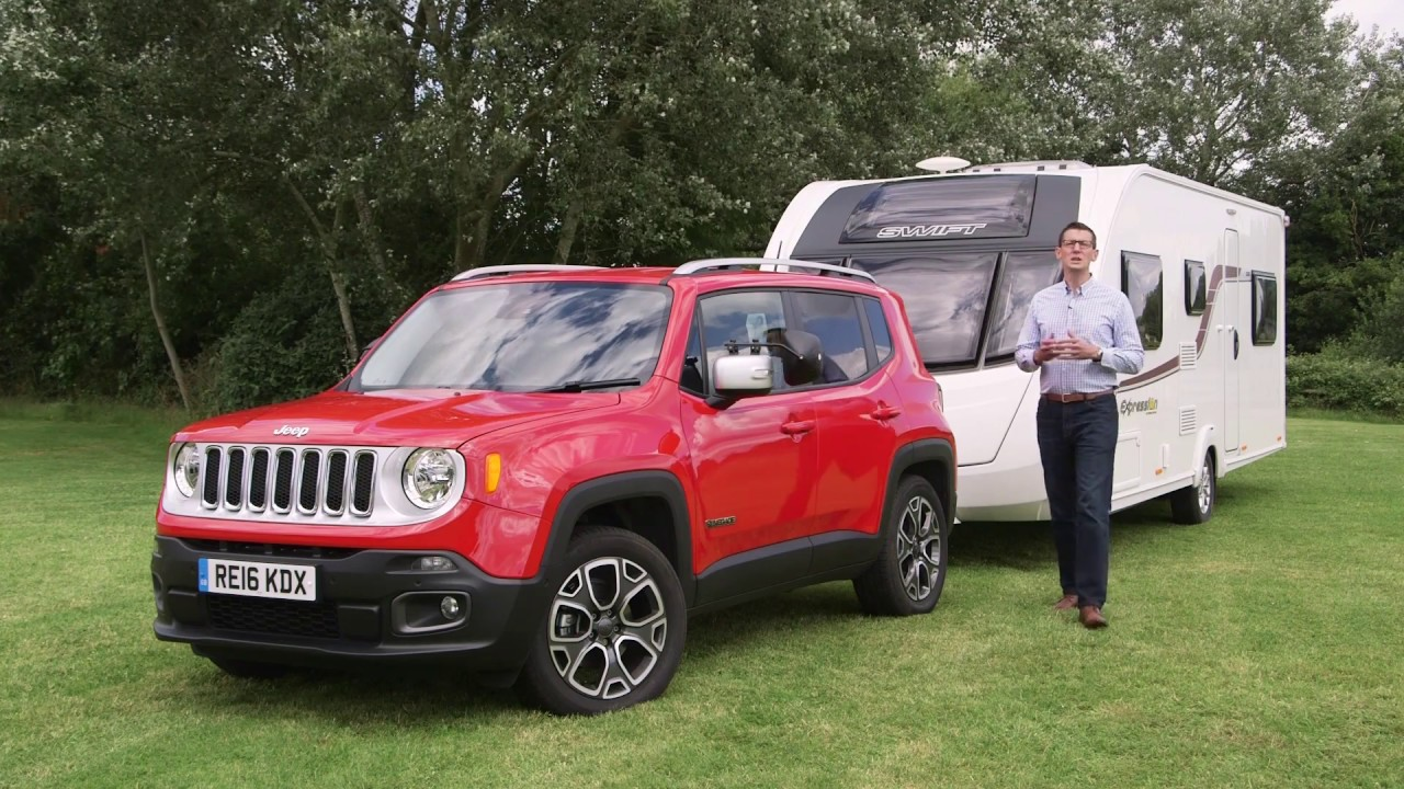 the practical caravan jeep renegade review - youtube