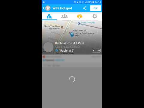 How to use Wifi Map - get free wifi passwords