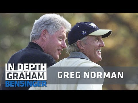 Greg Norman: Bill Clinton ruined my knee