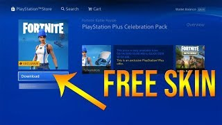 FORTNITE FREE SKIN (PSN EXCLUSIVE) *NO PS PLUS NEEDED* (Ask me in comments)