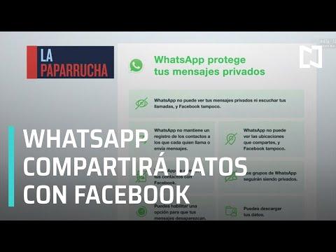 WhatsApp compartirá datos de usuarios con Facebook, la paparrucha del día - Punto y Contrapunto