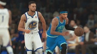 NBA 2K18 My Career - Warriors 2nd Matchup vs Curry! PS4 Pro 4K Gameplay