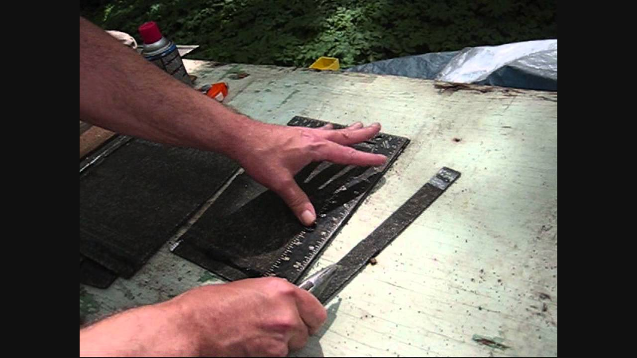 How To Cut Roofing Shingles Youtube