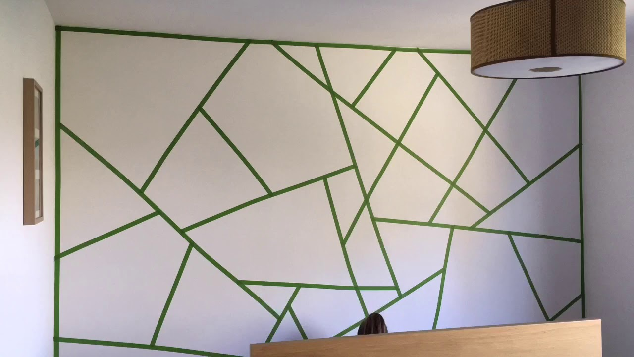 Triangle Paint Wall The Making Of