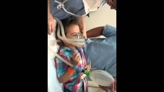 Anestesia Geral  em Criança super tranquilo