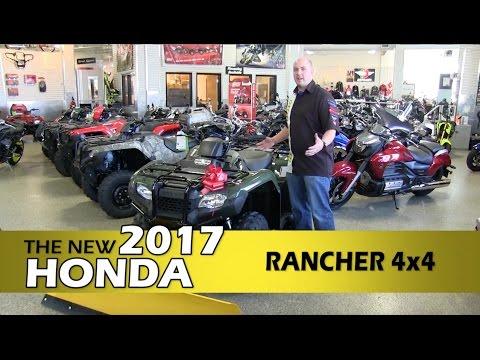 review: new 2017 honda rancher 4x4 - honda atv - minneapolis, st