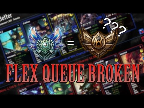 league of legends matchmaking terrible