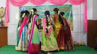 Chinni Maa Bathukamma performance Sri Kakatiya School