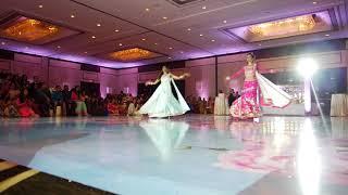 Sangeet Dance Bride and Her Sister | Enna Sonna Mix | Masakali Mix | #fromlovetoshahdi