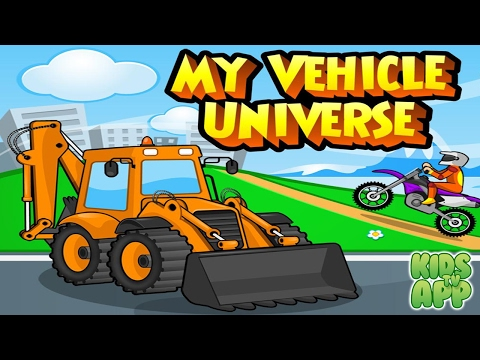 My Vehicle Universe - Interactive Educational Game - Best App For Kids