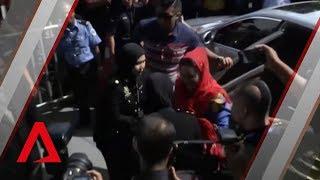 Rosmah Mansor, ex-PM Najib's wife, arrives at Malaysia's MACC headquarters
