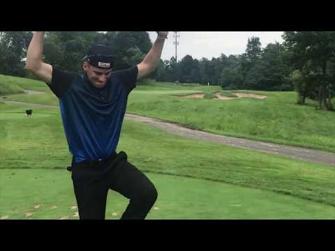 Spinning Wedges Out of Salad Bars?? - Sandstone Hollow Par 3 Course @ Turning Stone Resort PART TWO