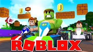 Roblox - MEEP CITY RACING! (Mario Kart in Roblox)