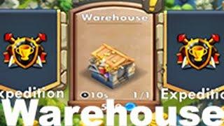 Castle clash what to buy in Warehouse!