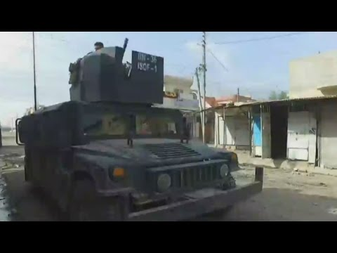 Iraq: Fighting the Islamic State group in Mosul with the elite Golden Division unit