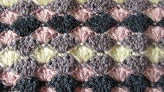 very easy crochet shell stitch blanket crochet blanket afghan for beginners