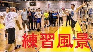 【ハンドボール】瞬発力と判断力を鍛える練習法~海外キーパーたちの上達への取り組み~トレーニング【練習風景】