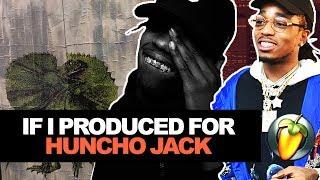 MAKING A FIRE BEAT FOR HUNCHO JACK JACK HUNCHO (TRAVIS SCOTT x QUAVO ALBUM) | FL Studio Beatmaking