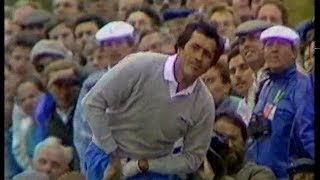 Seve Ballesteros. The Open.1988. 8th-18th, 3rd day.