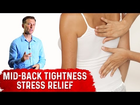 Dr. Berg's Stress Relieving Technique for Mid-back Tightness