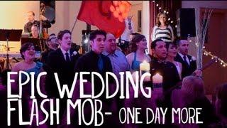 EPIC Les Misérables Wedding Flash Mob