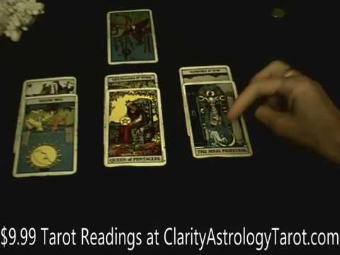 Repeat Earth signs Love Tarot for August 1-14 - Deciding on