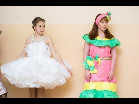 Бумажное платье - 2014