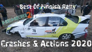 Best Of Finnish Rally Crashes & Actions 2020