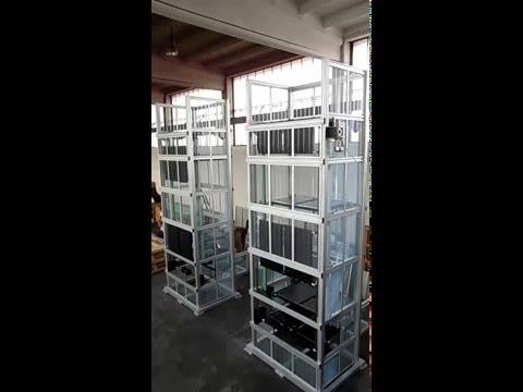 Elevatore e discensore a ripiani 2 | Riello s.r.l.